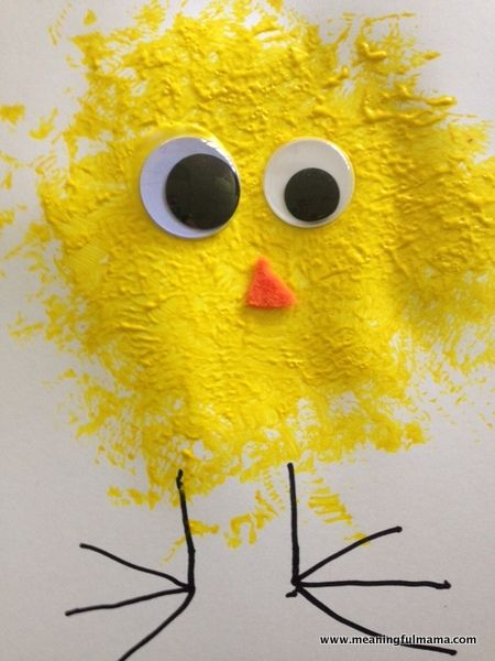 Photo of Easy Spring Chick Craft for Kids