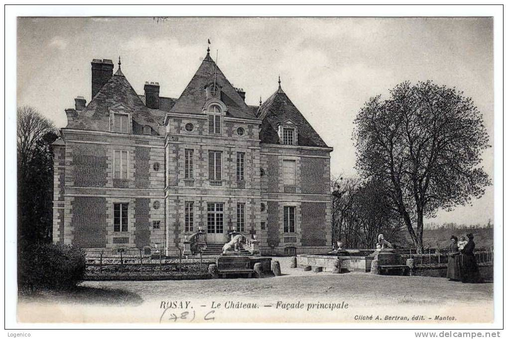 Rosay chateau - Delcampe.net