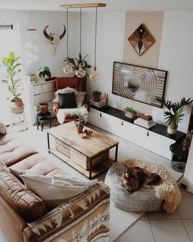 45 Smart Diy Wall Decor Ideas In 2020 In 2020 Living Room Designs Apartment Decor Boho Living Room
