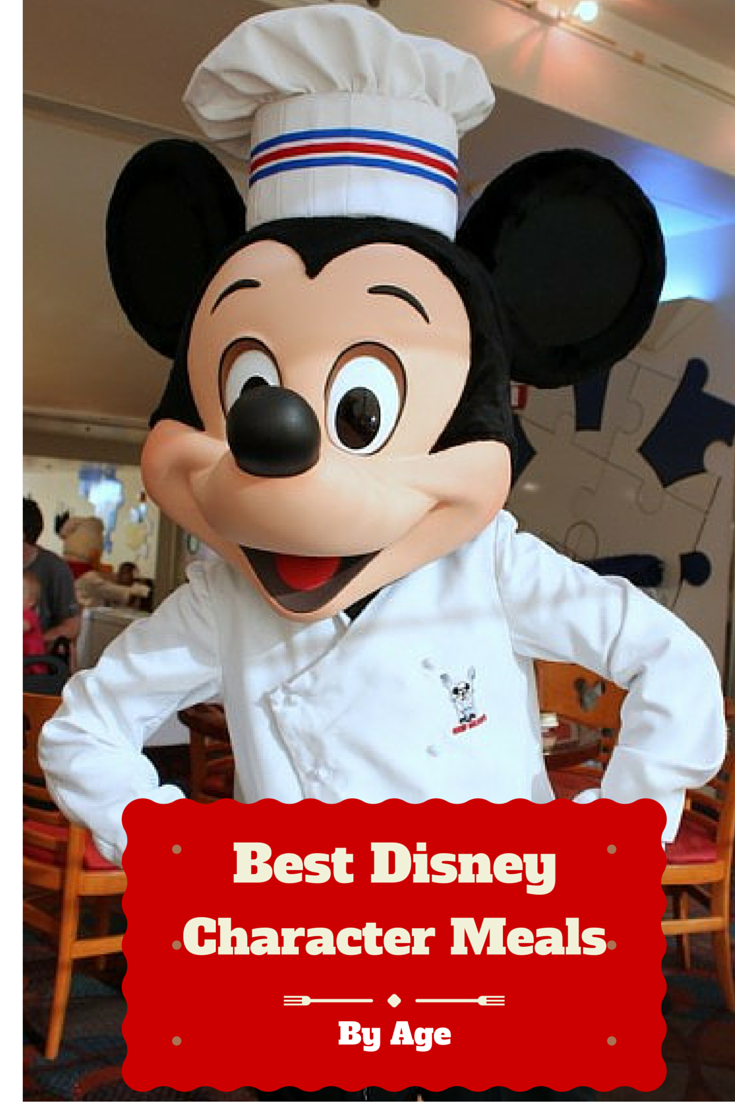 The Best Disney Character Meals Recommendations By Age!
