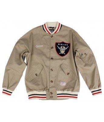 af2eb5bf02c Rocksmith Clothing Heritage Ninjas Jacket - Khaki-Large  120.00 ...