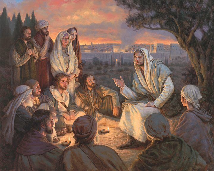 Image result for jesus teaching his disciples