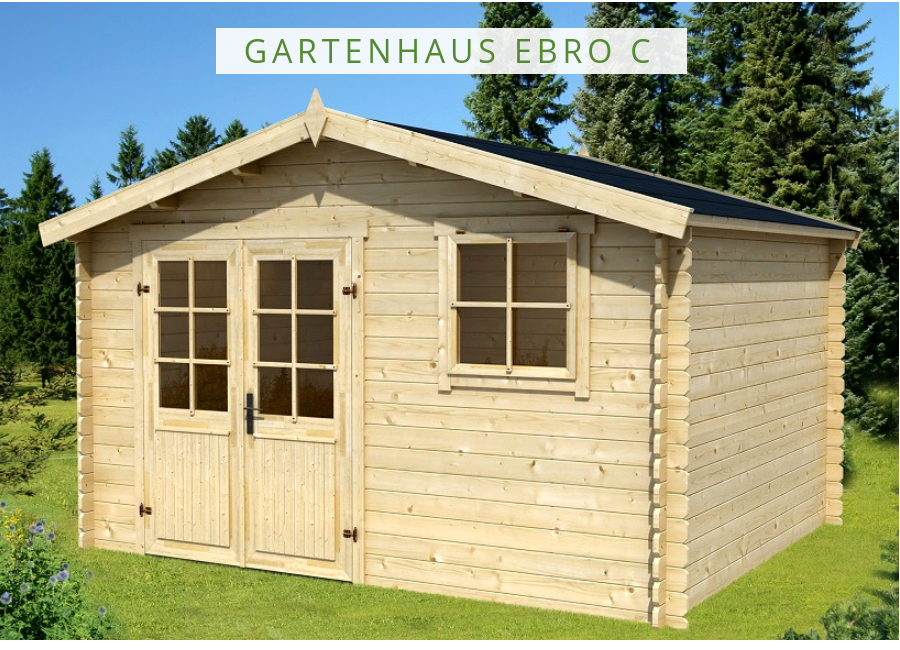 Lasita Maja Gartenhaus Ebro C 2814050 Gartenhaus Haus Gartenhaus Kaufen