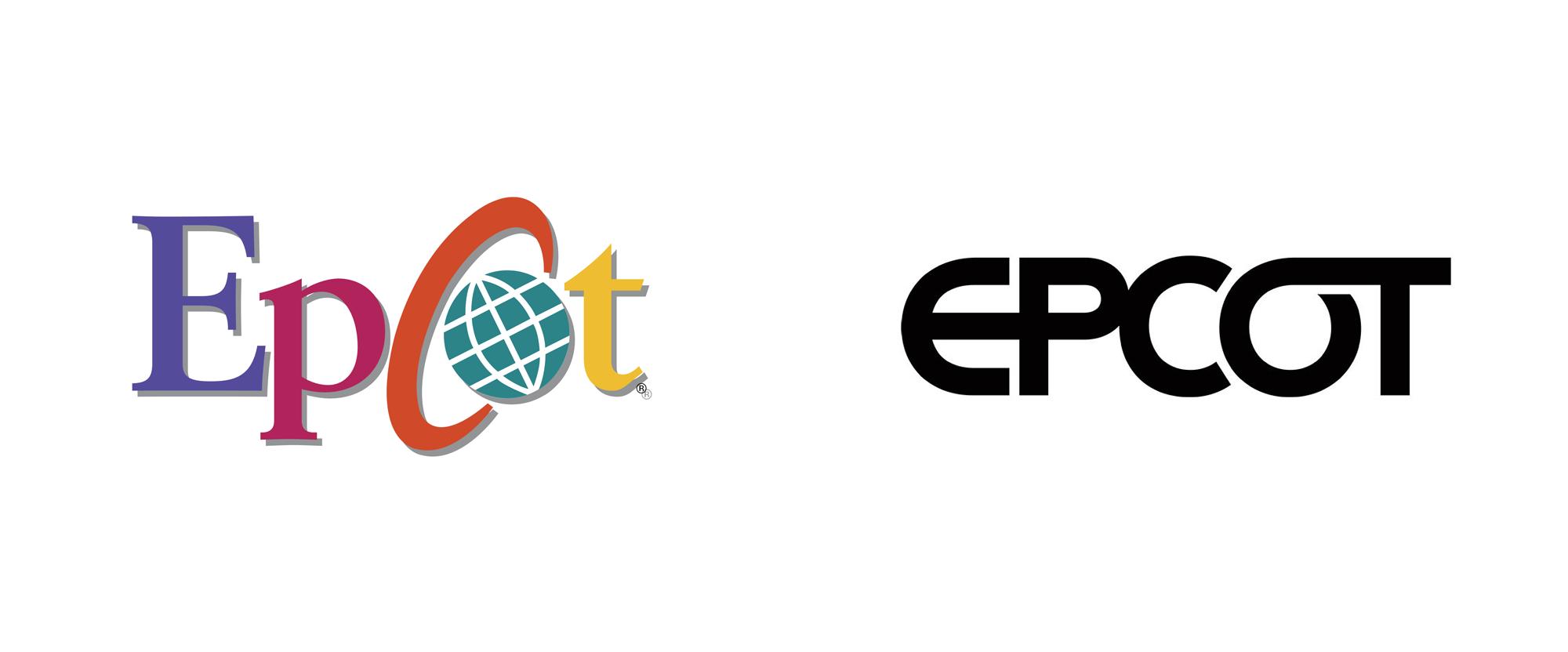 New Logo For Epcot Epcot Identity Design Logo Logos
