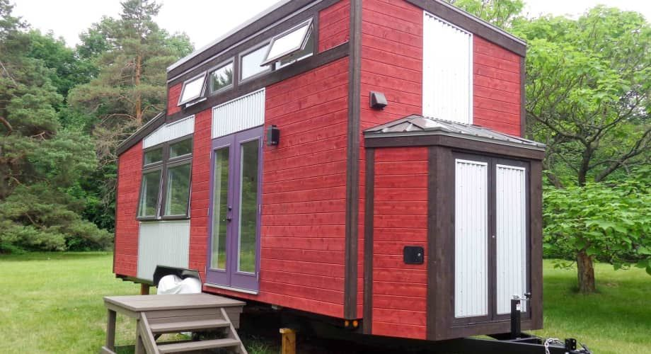 Four Season Canadiana Tiny House For Sale In Montreal Quebec