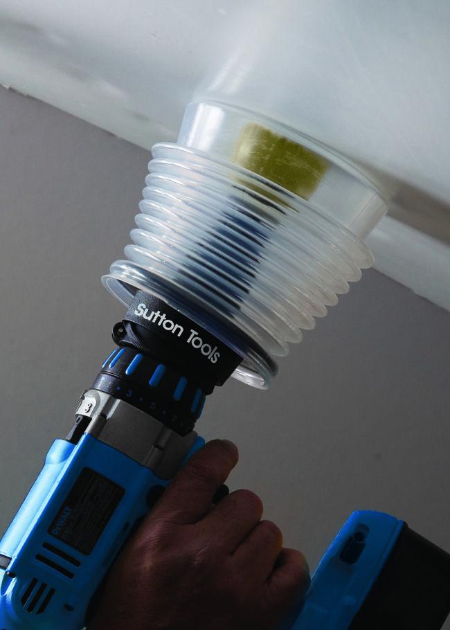 Drill Kleen Dust Amp Debris Collector Good Thinking