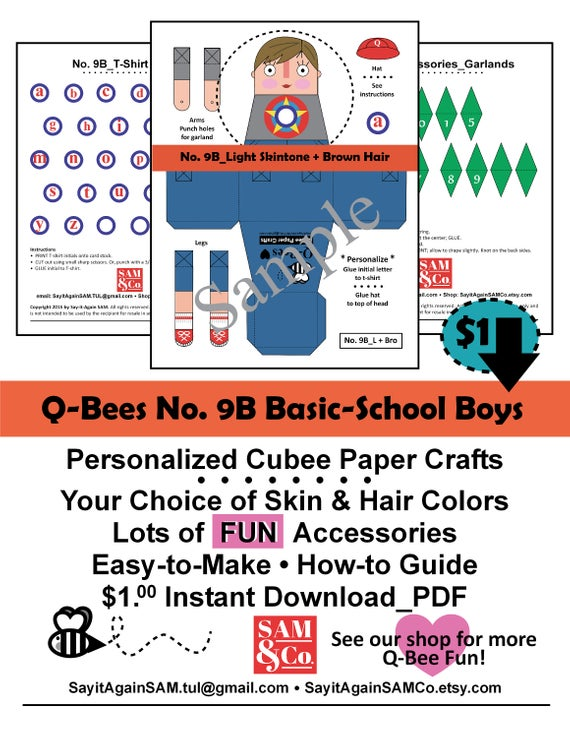 paper toy templates free download