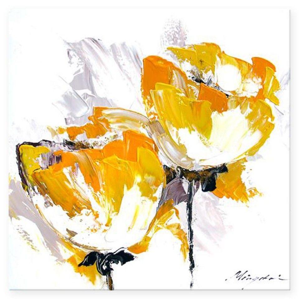 friendship-lovely-yellow-orange-autumn-flower-painting-960x960.jpg ...