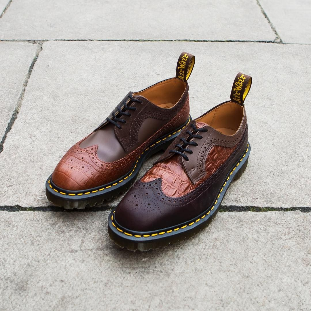 dr martens engineered garments brogue dr martens x engineered garments