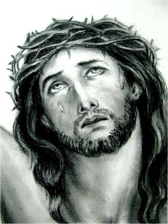Clases De Dibujo Artistico Rostro De Cristo Clases De Dibujo Artistico Rostro De Jesus Clases De Dibujo