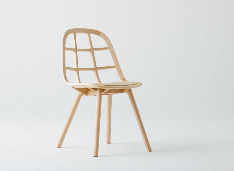 Nadia Furniture Collection By Jin Kuramoto For Meetee Collection De Meubles Chaise Fauteuil Meubles Japonais