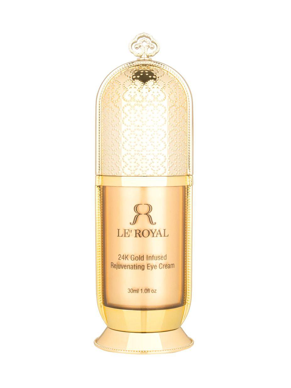 Le Royal 24k Luxury 24k Gold Infused Rejuvenating Eye Cream 1 Oz Rejuvenate Eyes Eye Cream For Dark Circles Eye Cream