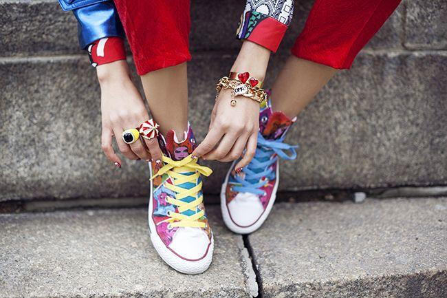 Trampki Na Festiwal Tamara Gonzalez Perea Macademian Girl Fot Macademiangirl Com Chuck Taylor Sneakers Shoes Boots