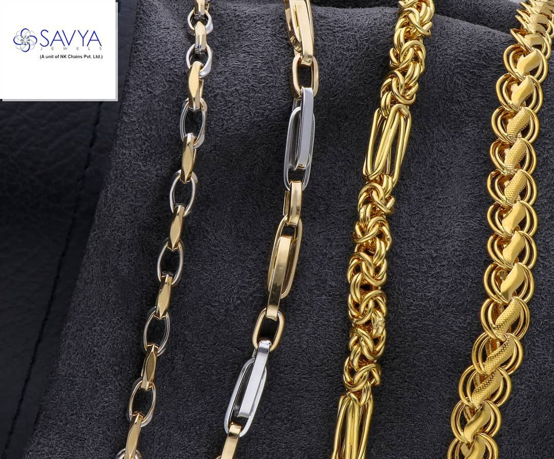 Savya Jewels Is Offering A Wide Range Of Platinum And Gold Chains For All Gorgeous Gents Out There Some Of Our Designs Are Ready To Be In The Process For More