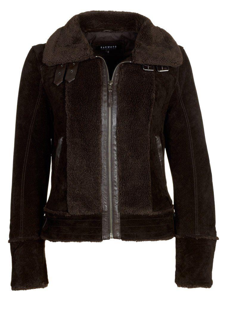 b87029e0 Skinnjakke - choco @ Zalando.no 🛒 | Products I Love | Leather ...