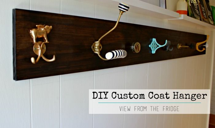 A Diy Custom Coat Hanger And Orc Week 5 Update Funky Home Decor