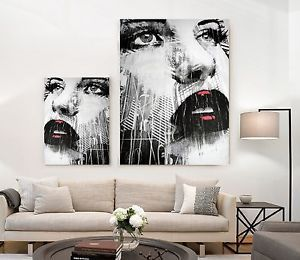 xxl bild set neu modern art leinwand lounge wandbild schwarz weiss gem lde ikea bilder in 2019. Black Bedroom Furniture Sets. Home Design Ideas