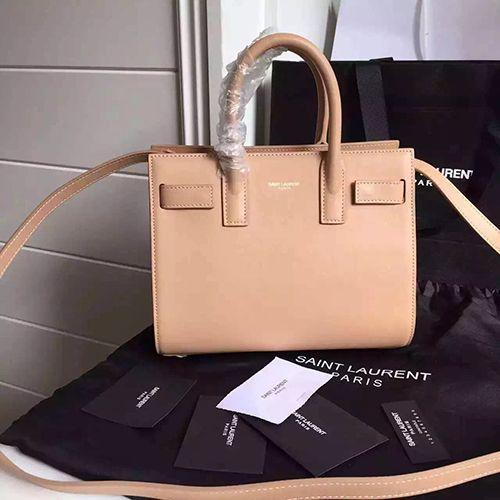 5fe25b101a2a ysl nude beige nano sac de jour shoulder bag