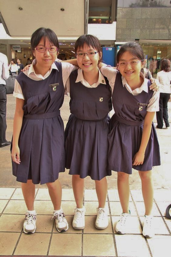Singapore secondary school girls exposed pictures
