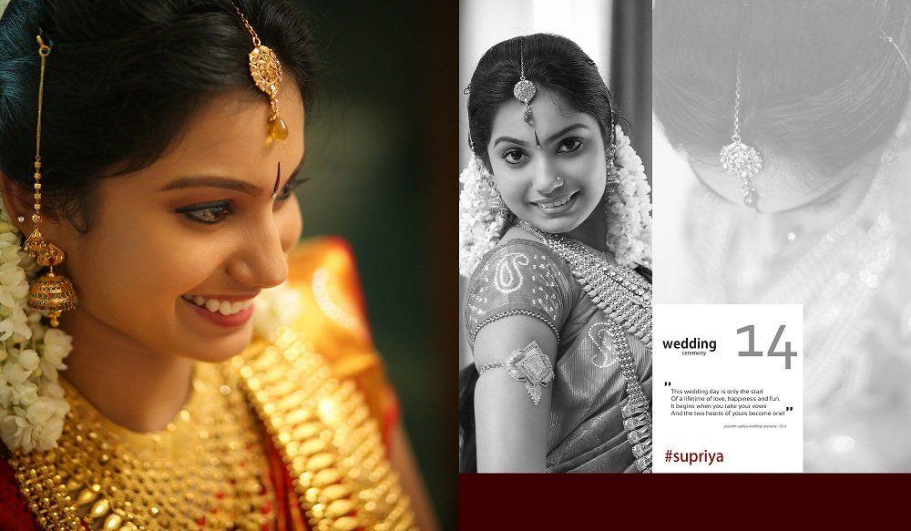 Kerala Hindu Wedding Album Designing - Kerala Wedding Photography