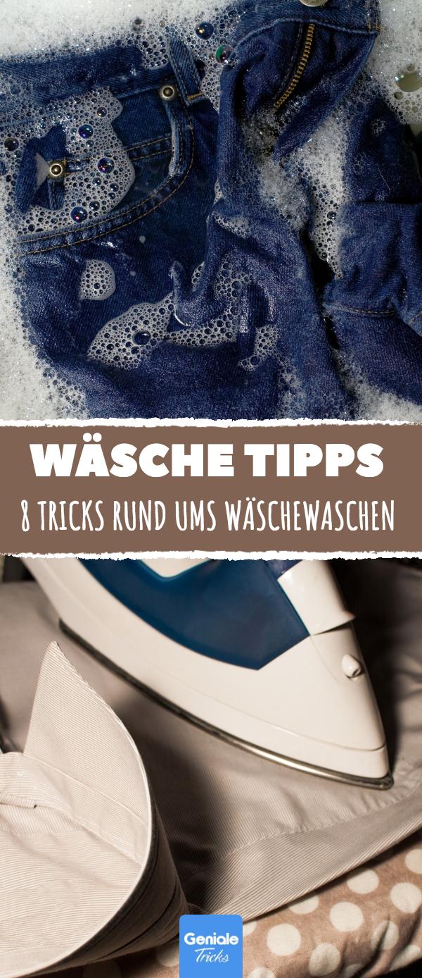 8 tricks rund ums w schewaschen haushalt tricks lifehacks pinterest haushalte waschen. Black Bedroom Furniture Sets. Home Design Ideas