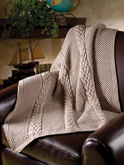 Knitting Pattern Tempting Texture Throw - #ad Easy afghan featuring ...