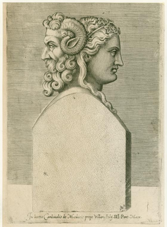 buste du dieu romain janus rome antique dieu romain et dessin. Black Bedroom Furniture Sets. Home Design Ideas