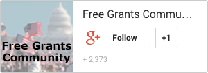 Free Grants Community on Google Plus