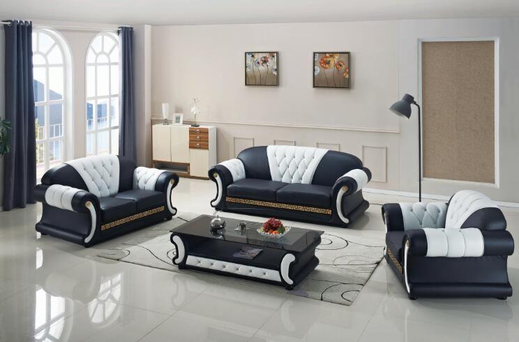 Sitzgruppen Wohnzimmer, sofa set wohnzimmer möbel mit echtem leder 3 stücke | home furniture, Design ideen