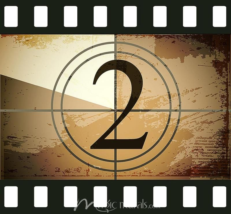 16 Mm Film Countdown 2 Click To Zoom Film Countdown Vintage Aesthetic Mural