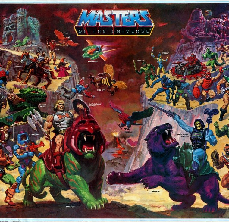 24 Signs You Were Obsessed With He Man The Masters Of The Universe Masters Of The Universe Classic Paintings Universe