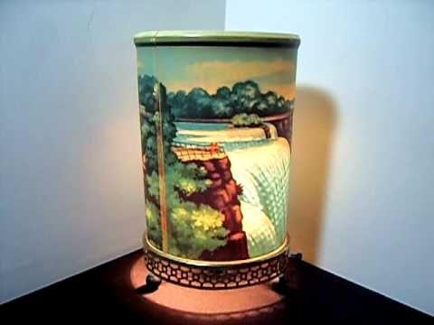 Vintage 1955 Econolite Motion Lamp Niagara Falls Vintage Lamps Motion Lights Motion Lighting