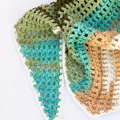 Crochet Baktus Scarf Crochet Every Day Pinterest Scarves