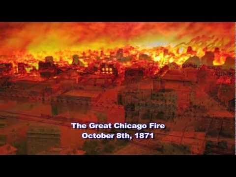 Weather History The Great Chicago Fire 1871 This Historical