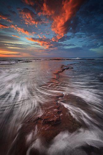 Swishes And Swirls Panoramic Photography Scenery Nature Water