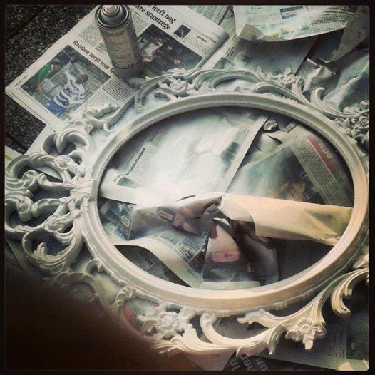 spiegel omtoveren