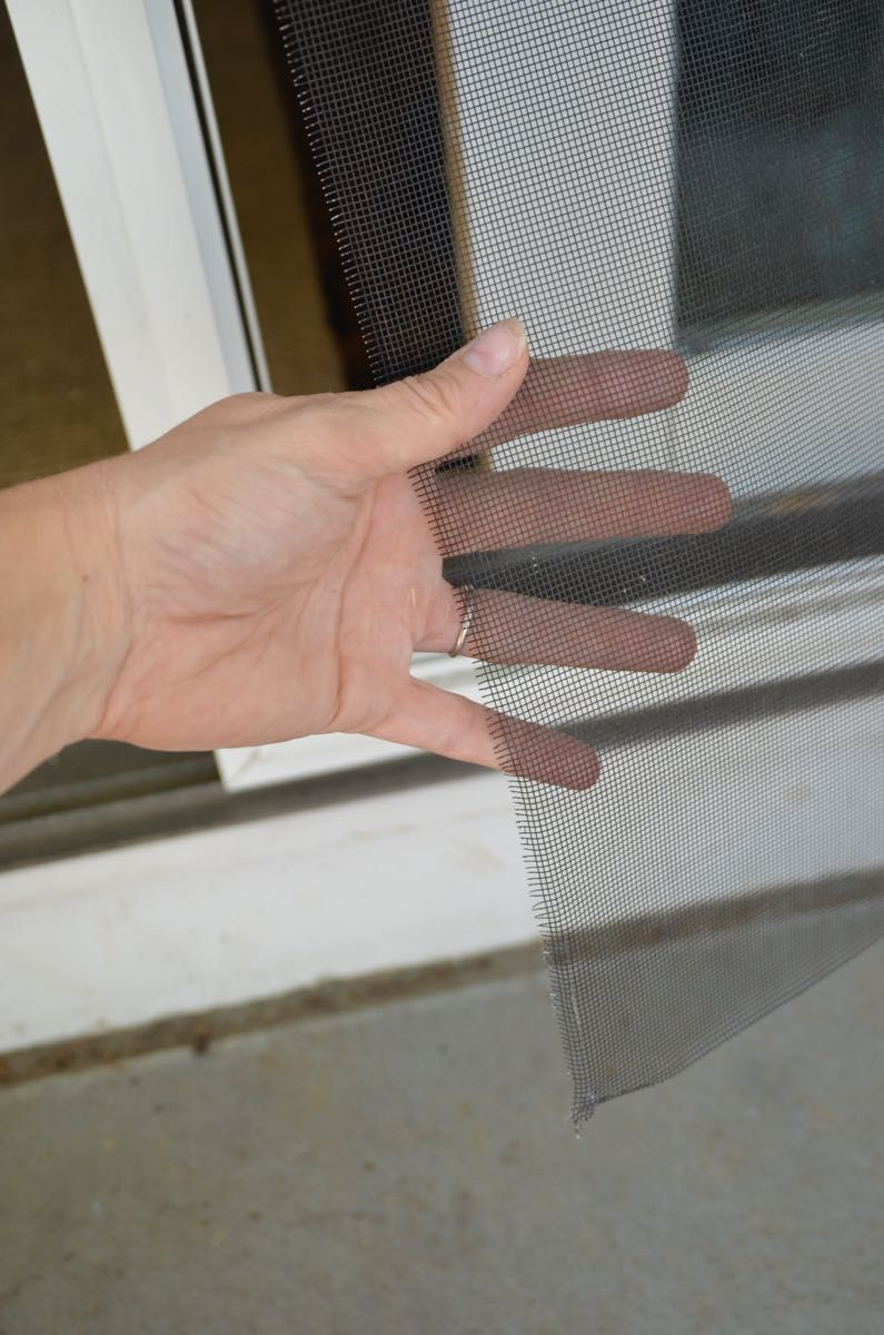 how to replace the screen in a screen door or window | misc