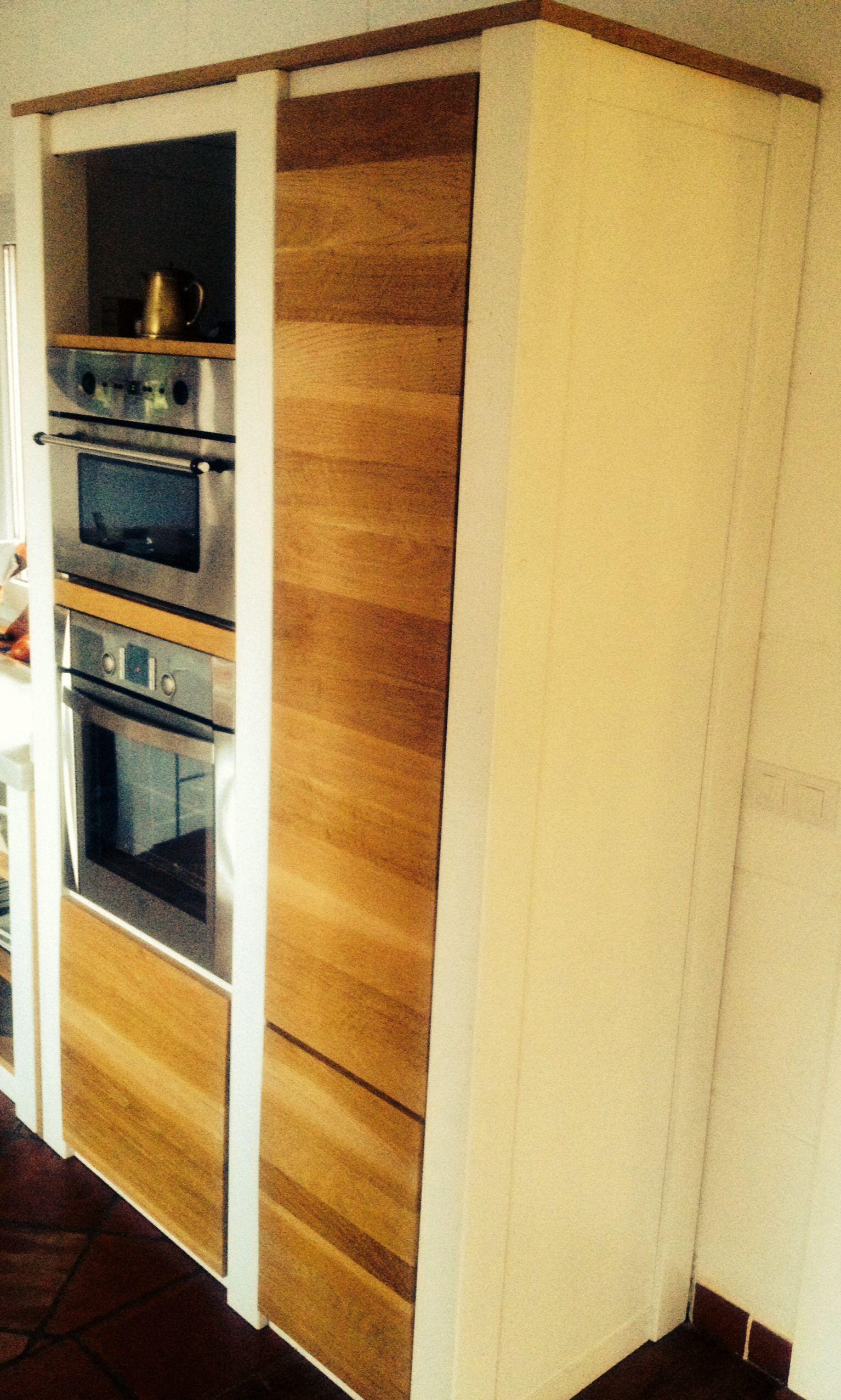 Mueble cocina madera maciza + roble ✏ jlbarroso | Muebles ...