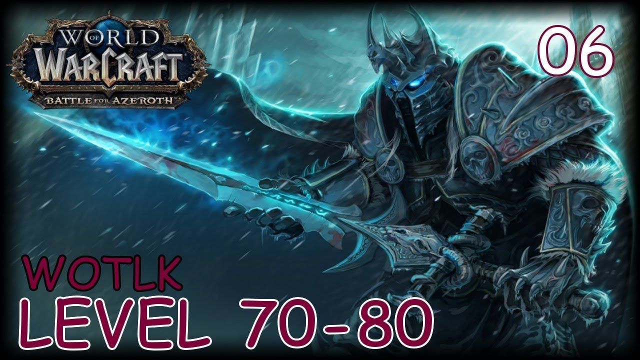 WOW WOTLK (Battle For Azeroth Pre-Release Play) #games #mmo