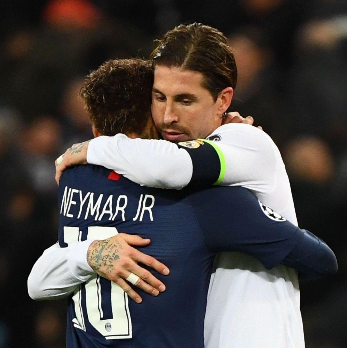 Neymar And Ramos Respect Neymar Neymar Jr Sergio Ramos