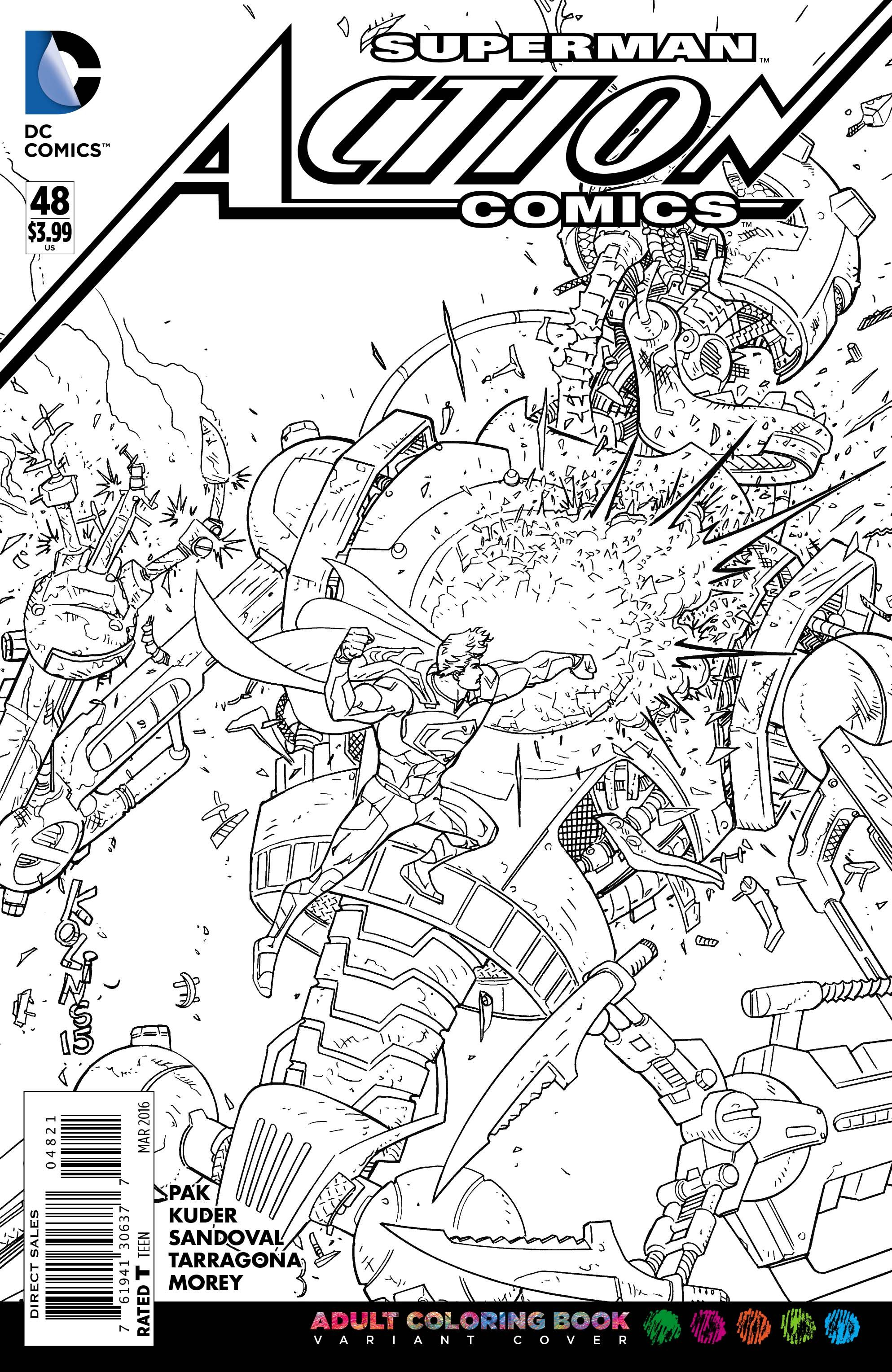 Dc comics adult coloring book variants revealed - Coloriage dc comics ...