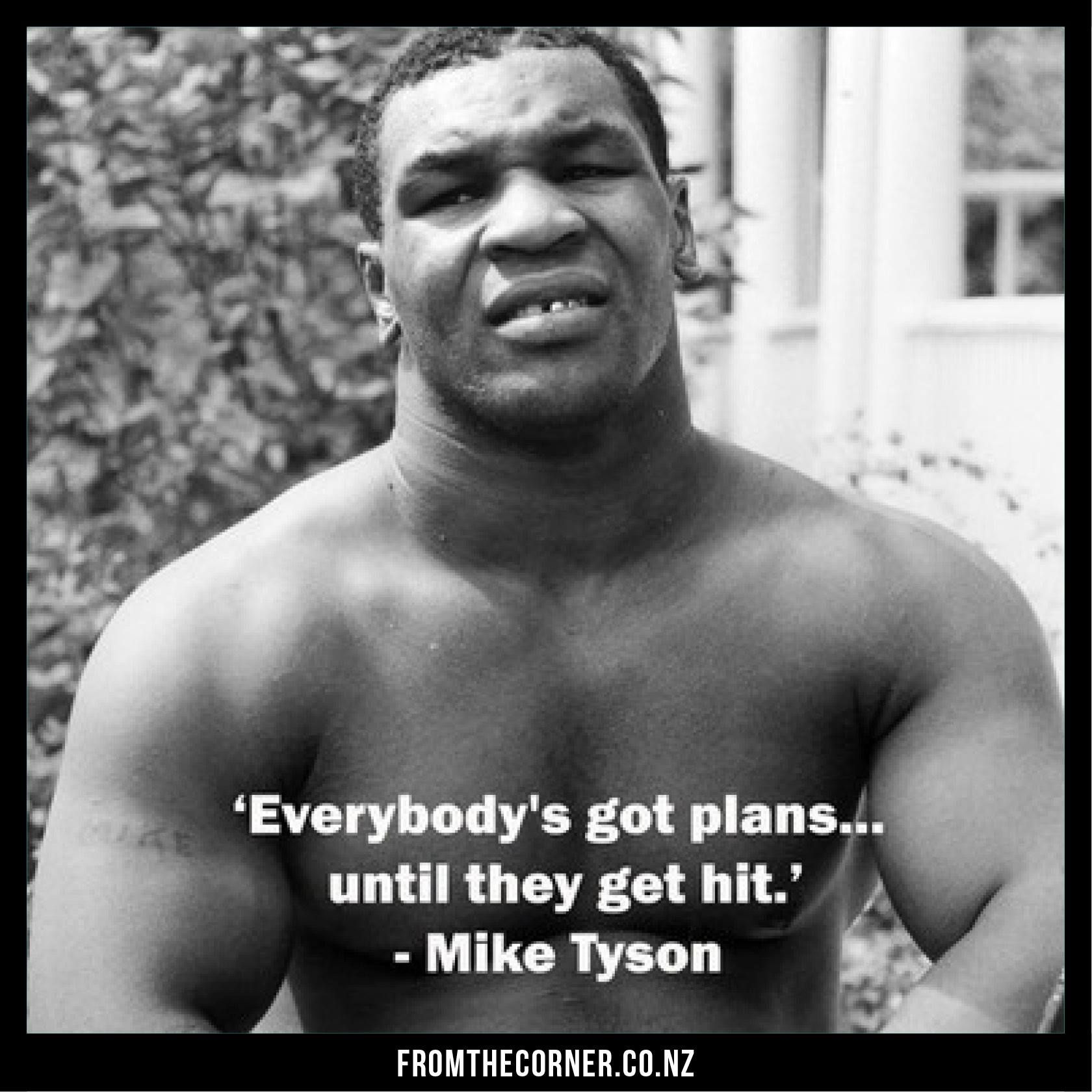 Mike Tyson Quotes: Mike Tyson. (Quote From The Boxing Legend)
