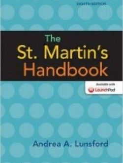 The st martins handbook 8th edition free ebook online the st martins handbook 8th edition free ebook online fandeluxe Images