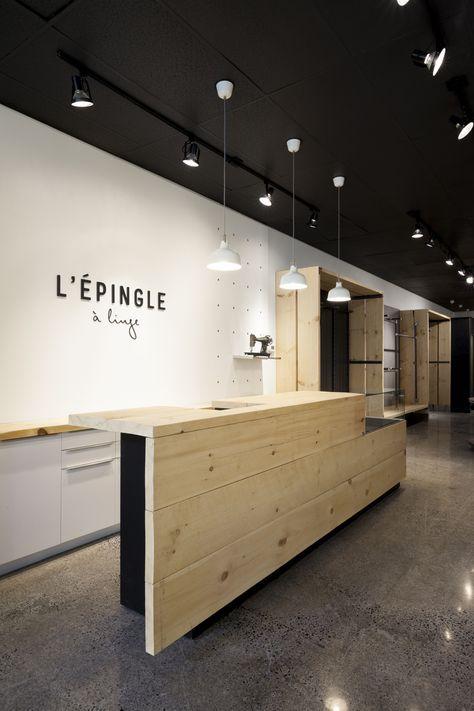 Lpingle Linge Boutique Store Par Taktik Design