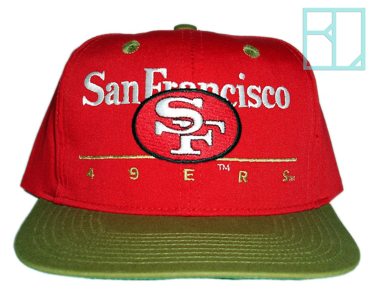 Deadstock Vintage San Francisco 49ers Niners Snapback Hat Cap New With Tags  NOS dc443dde1