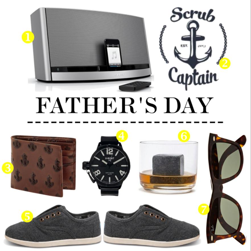 Dad's Day Gift Ideas! www.jillianharris.com