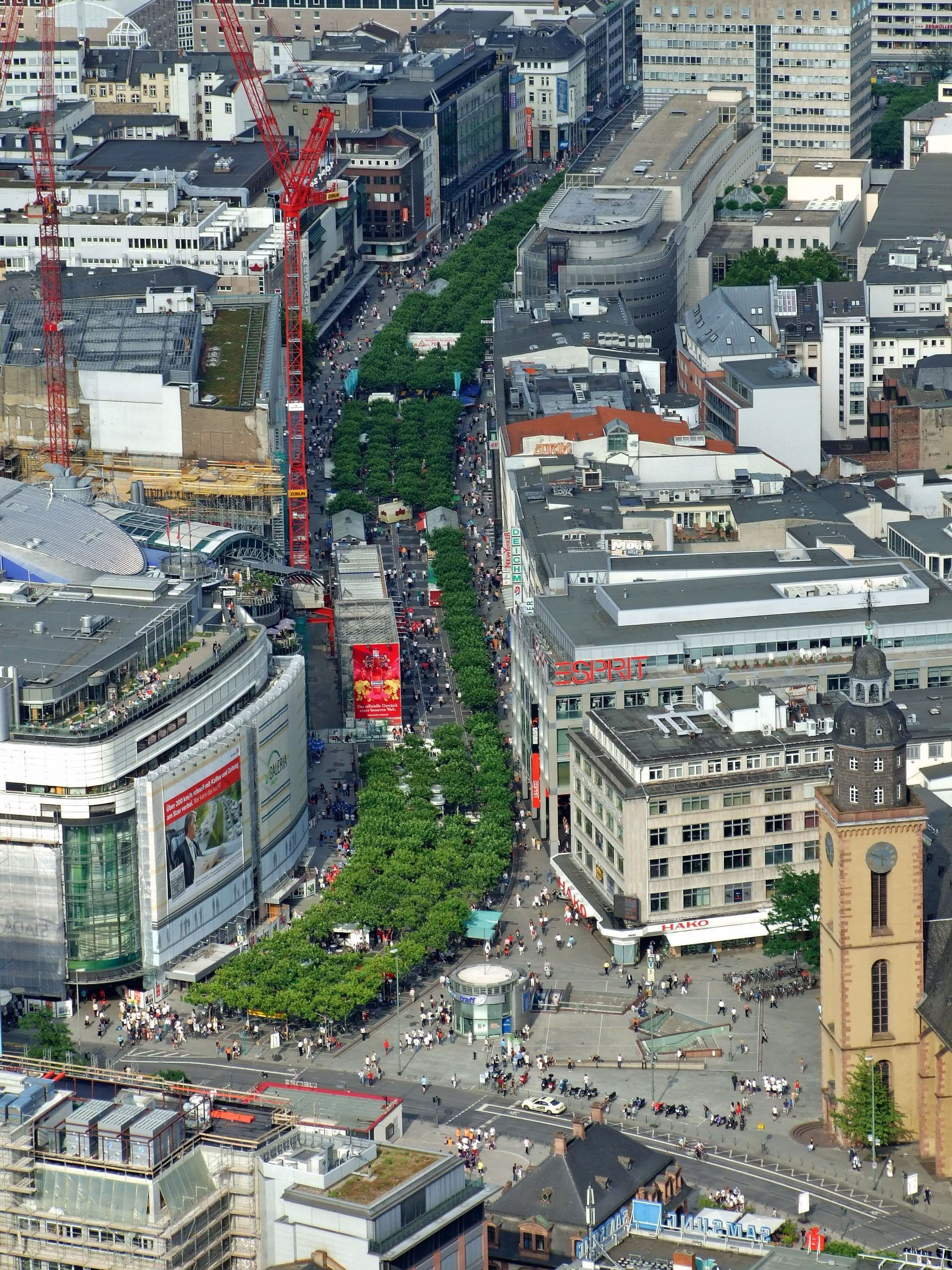 Zeil Straße, Frankfurt-am-Main, Germany | my places ...