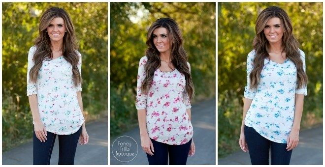 Floral Tunic!