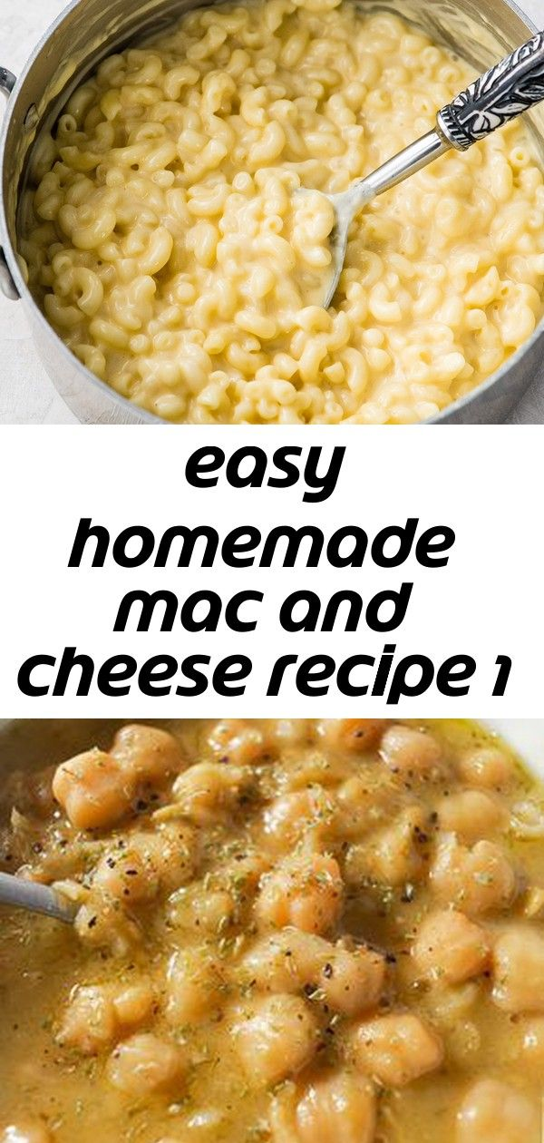 Easy homemade mac and cheese recipe 1 #tacomacandcheese