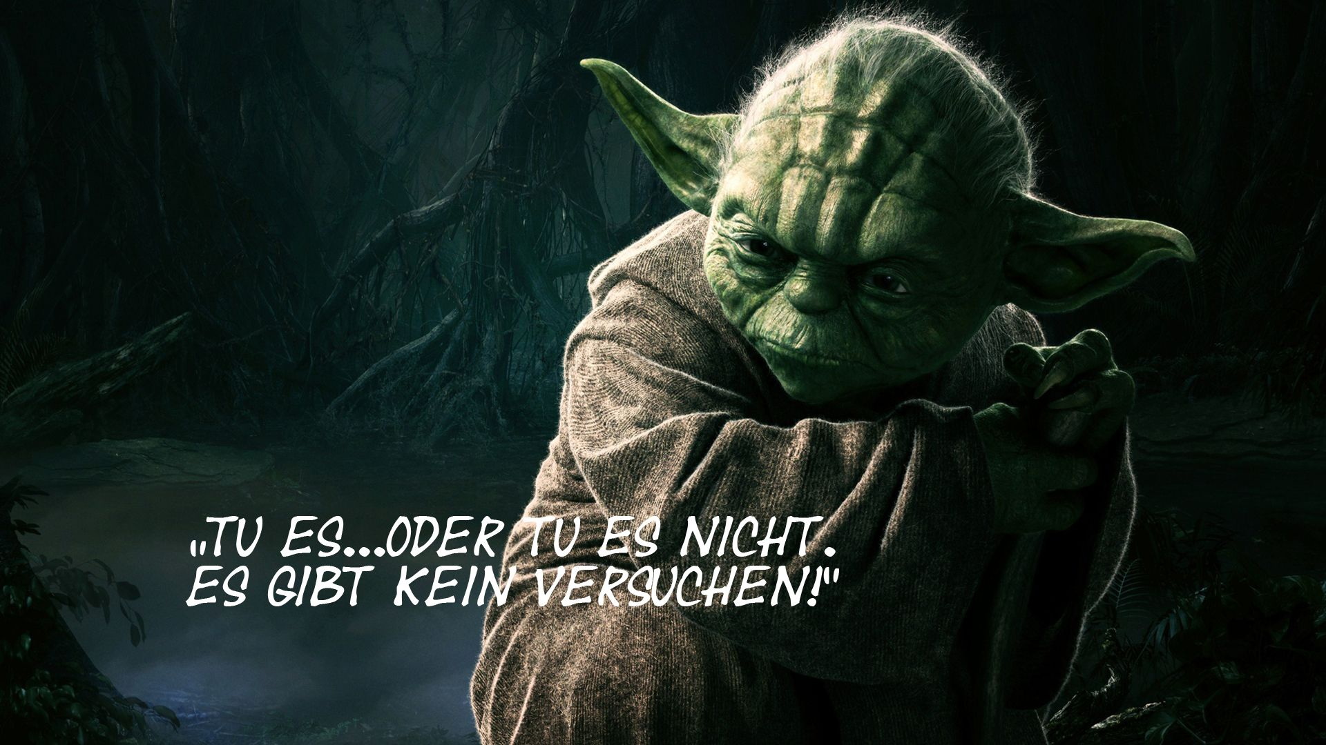 meister yoda zitate pinterest zitat. Black Bedroom Furniture Sets. Home Design Ideas